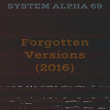 Forgotten Versions
