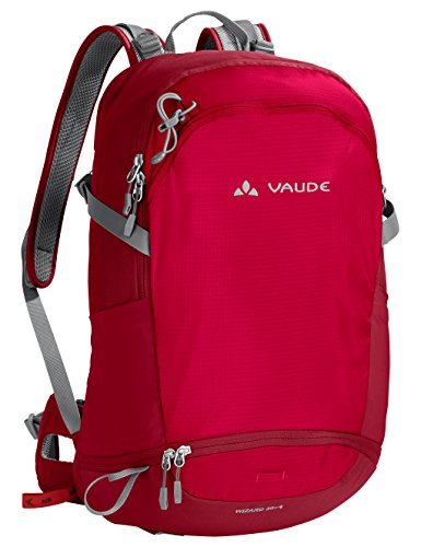 VAUDE Wizard 30+4  - Mochila senderismo -  color indian red, talla 34L