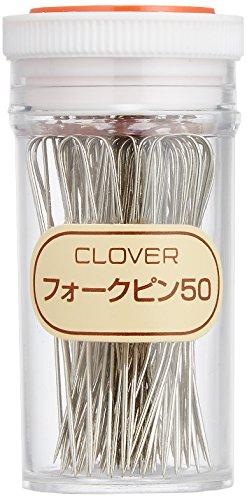 Clover (クロバー) フォークピン 針 50 col.55-405 50本入り 50