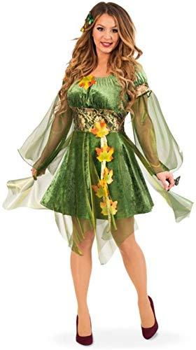 Fries 24344 - Disfraz de hada del bosque para mujer, talla 42