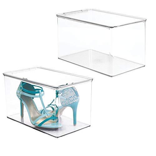 MDesign Juego 2 cajas zapatos apilables – Práctica