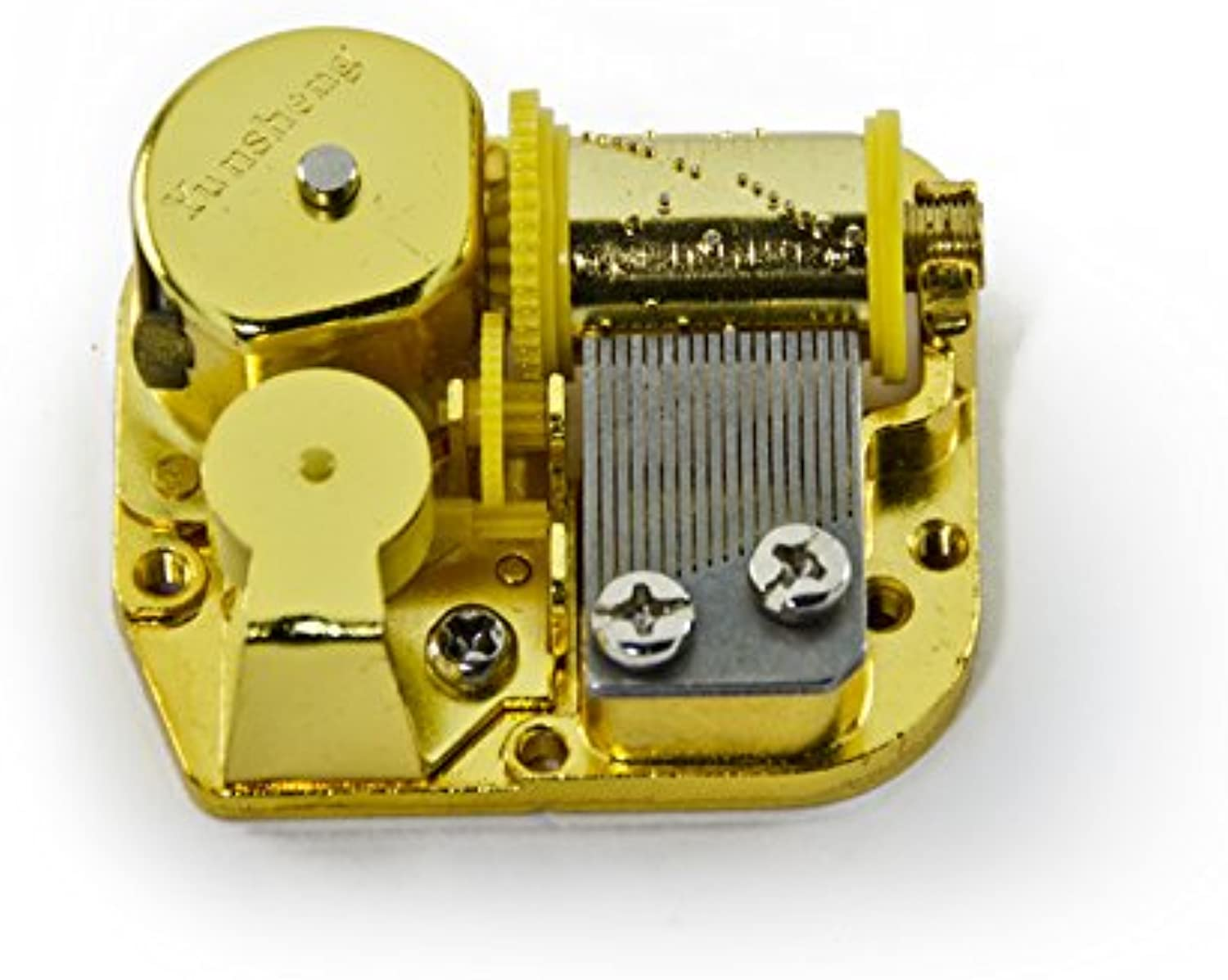 MusicBoxAttic 18 Note Mechanical Movement  Over 400 Song Choices  Yellow Ribbon  SWISS