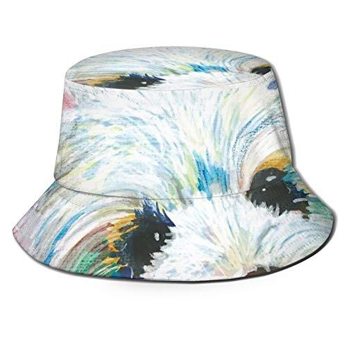 West Highland Terrier Love Sonnenhut Bucket Style Herren und Damen Faltbar Fisherman Strandhut Sonnenschutz