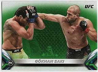 2018 Topps UFC Knockout Green Parallel #55 Gokhan Saki Light Heavyweight SER/199