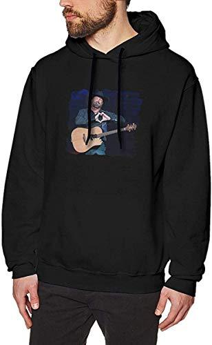 ZJIIXON Garth Brooks Hooded Sweatshirt Uomo Felpe con Cappuccio Tute Unisex Manica Lunga Autunno Inverno Casual XL