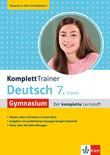 Klett KomplettTrainer Gymnasium Deutsch 7. Klasse: Der komplette Lernstoff mit über 100 Online-Übungen