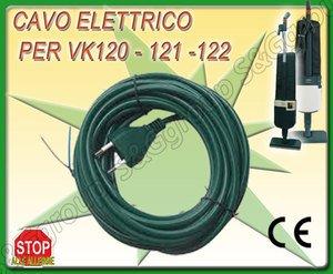 CAVO FILO ELETTRICO PER FOLLETTO VORWERK VK 116 117