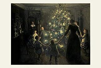 BiblioArt Series ヴィゴ・ヨハンスン「Happy Christmas」A5版額絵