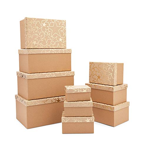 Gold Star Nesting Boxes with Lids, …