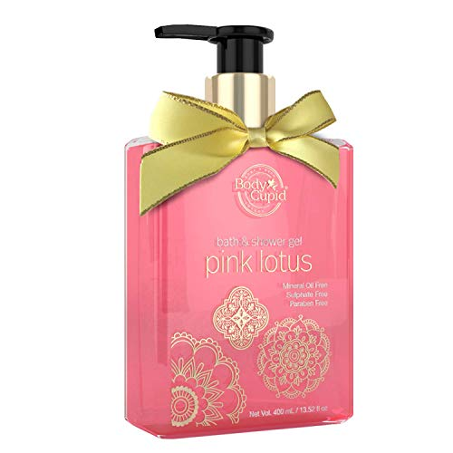 Body Cupid Pink Lotus No Parabens Sulphates Shower Gel 400