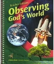 Observing God's World, Teacher Edition