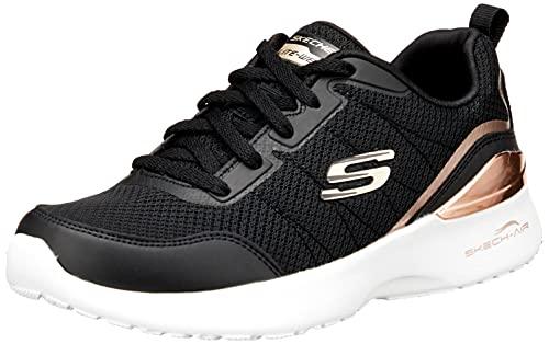 Skechers Skech-Air Dynamight The Halcyon, Zapatillas Mujer, Black, 38 EU