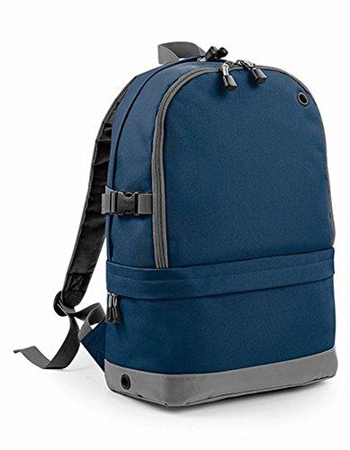 BagBase BG550FNAV Athleisure Pro - Mochila unisex (talla M), color azul marino