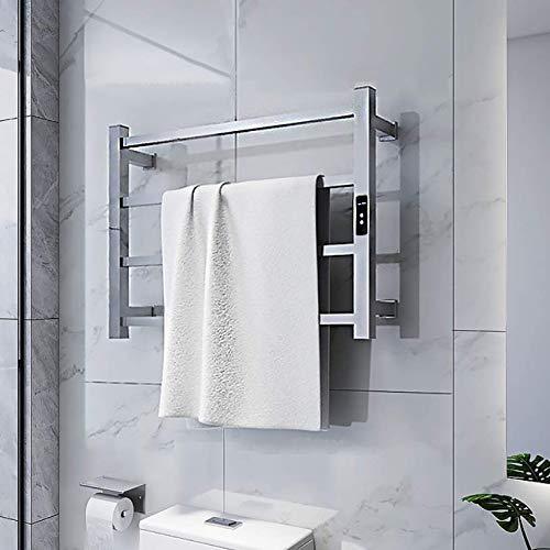 KAISIMYS Calentador de Toallas, toallero eléctrico con calefacción, riel de Toalla con...