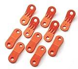 キャプテンスタッグ(CAPTAIN STAG) プラスチック製自在 10個組 M-8735