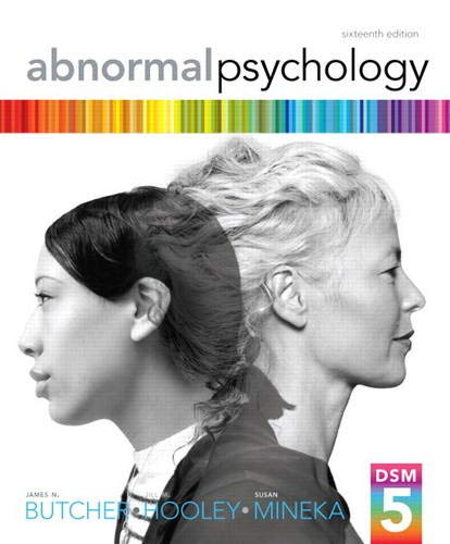 Download Abnormal Psychology (16th Edition) 0205944280
