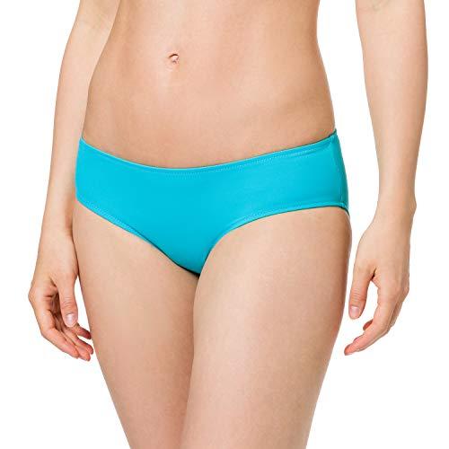 PUMA Womens Swim Women's Hipster Bikini Bottoms, Scuba Blue, XS