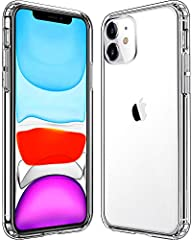 For iPhone 11 case : Compatible with new iPhone 11 (released in 2019) For iPhone 11 cases: TPU + Hard PC offer stronger protection from sudden dropping and scratch resistant For iPhone 11 case clear: Precise charging cutout fits the volume buttons, s...