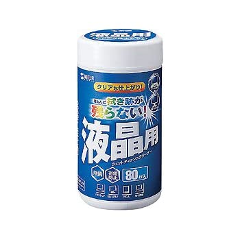 サンワサプライ CD-WT4N OAウェットティッシュ(液晶用)