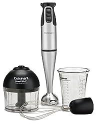 Cuisinart CSB-79 Smart Stick 2-Speed 200-watt Immersion Hand Blender with Attachments