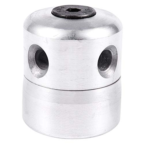 WOVELOT Tete a tondeuse a gazon en aluminium avec 4 cordes Tete de debroussailleuse Tete de corde de coupe de tondeuse a gazon Remplacement a tondeuse a gazon