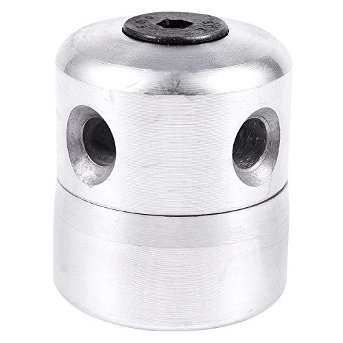 Gesh Cabezal de corte de césped de aluminio con 4 líneas de corte de cepillo de cabeza de cortadora de césped