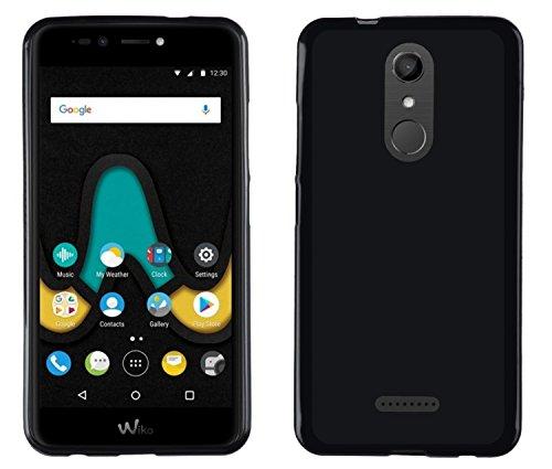 Easbuy Handy Hülle Soft Silikon Hülle Etui Tasche für Wiko U Pulse Upulse Lite 5.2