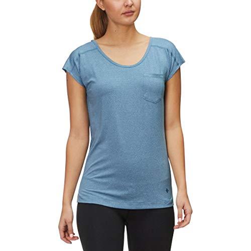Black Diamond W Beta T-Shirt pour Femme XL Acier Bleu.
