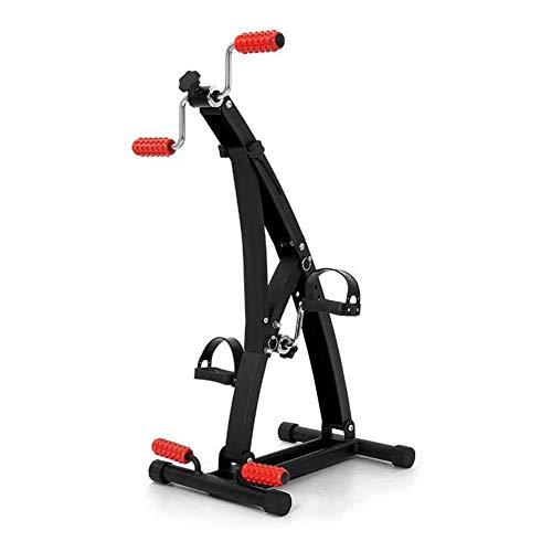 Medical Pedal Exerciser - Tragbares Fuß-, Hand-, Arm-, Bein-Tretgerät mit Hand- und Fußmassagerolle, Fitness-Reha-Fitnessgerät für Senioren