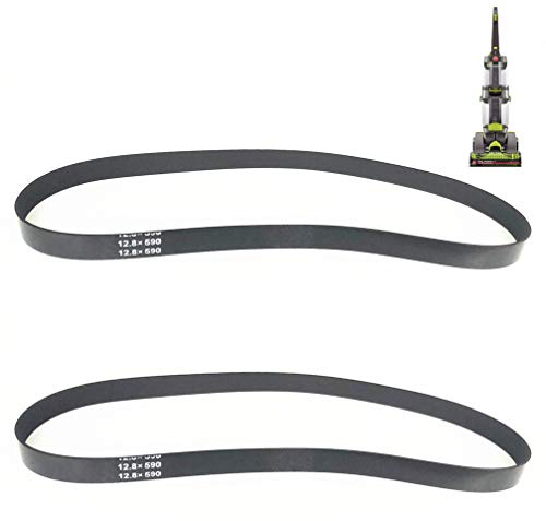 Seven-Yo Replacement Belts for Hoover Dual Power Max Carpet Cleaner Belt,Models FH51000, FH51001, FH51002, Replaces # 440005536 2 Pack