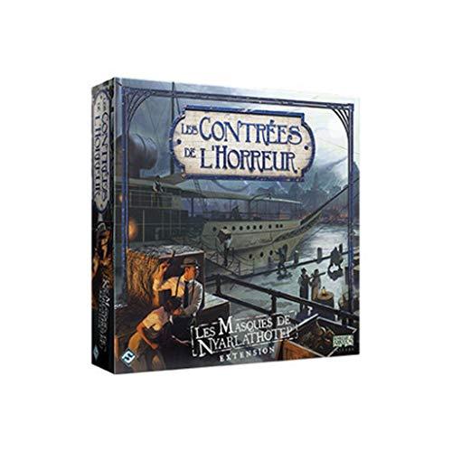 Fantasy Flight Games Les Contrées de l'Horreur - 9 - Les Masques de Nyarlathotep (extension)