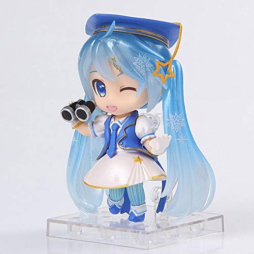 ZDYHBFE Hatsune Miku Special Edition Schnee Hatsune Bixin PVC Material Anime Figure Modell Boxed Spielzeug Geschenke