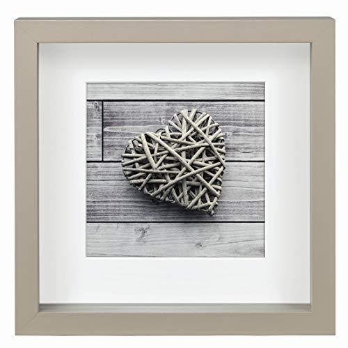 Hama Cadre photo pour portrait ´Scala´, taupe, 23 x 23 cm