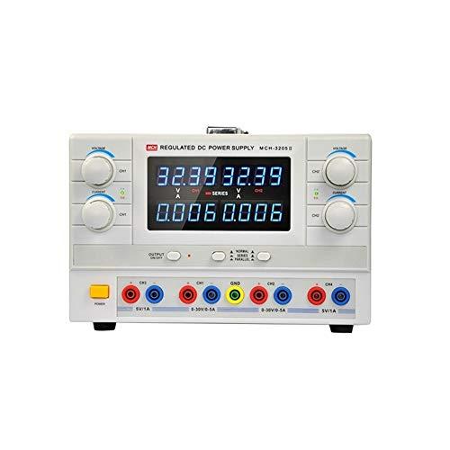 Durable Bloc d'alimentation CC réglable MCH-3205-II à 4 chiffres 32V 5A 110 / 220V (Size : 110V)