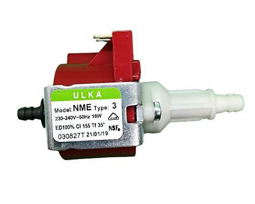 Micropompa Elettrica ULKA NME3 16W 2.7 125cc/min bar ricambio Macchine da Caffè