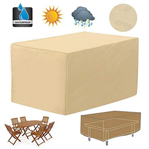 Meubelhoes - Patio Tafelkleed - Outdoor Tuinmeubelhoes - Veranda Waterbestendig 48 Inch Rechthoekige Patio Salontafel Cover