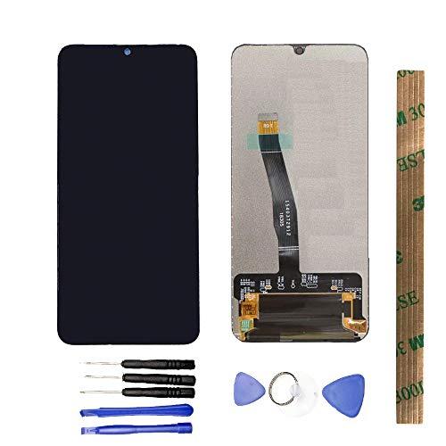 JayTong - Pantalla LCD de Repuesto y digitalizador de Pantalla táctil con Herramientas gratuitas para Huawei Mate 20 Mate20 HMA-L09 HMA-L29 Negro