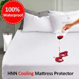 LEISURE TOWN Mattress Protector King 100% Waterproof Mattress Pad Cover Breathable Fitted 8-21 Inch Deep...