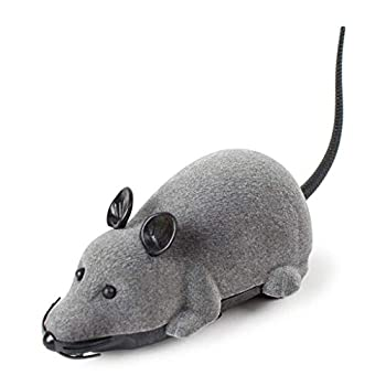 Ogquaton Jouets de qualité supérieure pour Les Enfants, Jouet drôle d'animal familier de Rat de Souris de télécommande électronique drôle de RC pour des Chats