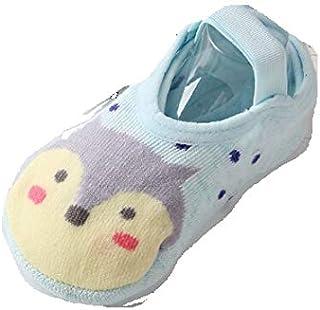 Calcetines para niña 1-3 años Linda Niños Infantil para bebés Calcetines de algodón Antideslizantes de Animales de Dibujos Animados