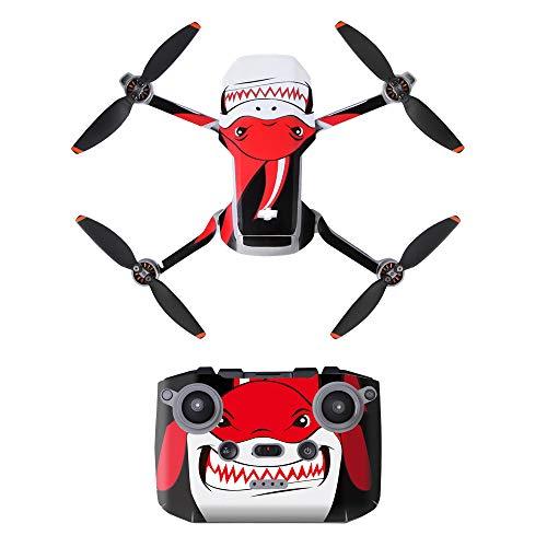 LHY Linghuang PVC Adesivo Decorativo Telecomando Decals Set per DJI Mavic Mini 2 Drone Impermeabile DIY Accessori Protezione AntiGraffio (Tipo 1)