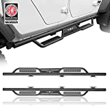 u-Box Running Boards Nerf Bars Side Steps Compatible with 2020 2021 Jeep Gladiator JT Pickup 4-Door