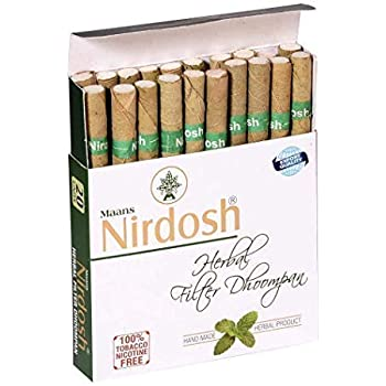 Nirdosh Narayani Pharmacy Herbal Dhoompan (20 Sticks)