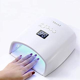 COCNI Nueva 48W Batería incorporada sin Hilos de la lámpara UV S10 uñas del Gel secador del Clavo del Clavo Que Cura la Cuerda de luz LED de la lámpara del secador del Clavo Profesión Inicio manicura