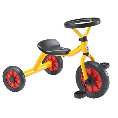 BorneLund(ボーネルンド) Winther ウィンザー社 ペリカンデザイン三輪車 丸ハンドル 黄色【WI41545】