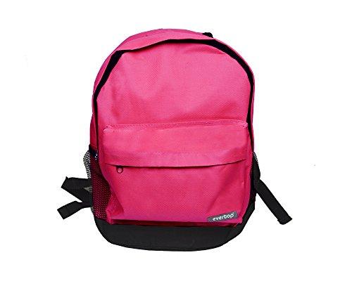Zaino Americano Scuola e Tempo Libero EVERTOP Travel Bag 38 x 24 x 31 cm Fair ShopOnline (Fucsia)