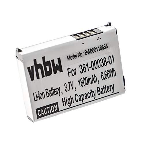 vhbw Li-Ion Akku 1880mAh (3.7V) passend für GPS Navigation Navi Garmin Zumo 210, 210 CE, 220, 600, 650, 665, 665LM 660, 660LM