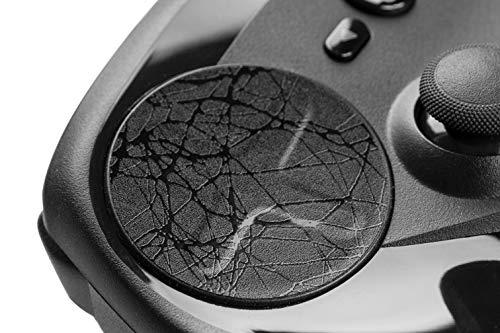 TouchProtect Web Trackpads für Steam Controller und HTC Vive Controller, aufwendige Webby-Textur schwarz