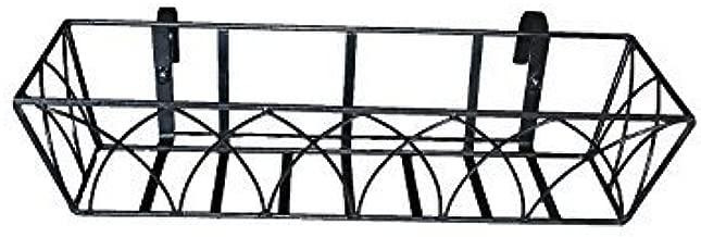 Minerva Naturals - Railing Metal Planter Lotus Design