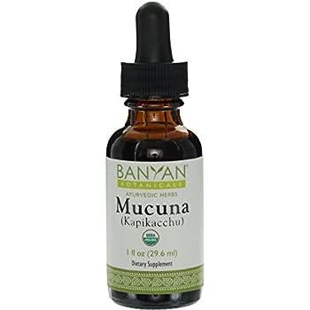 Banyan Botanicals Mucuna Pruriens (Kapikacchu) Liquid Extract - Certified Organic, 1 oz